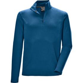 killtec KSW 241 Fleece Shirt Men, blauw